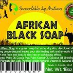 Homemade African Black Soap, Mosturizing Soap, Pack of 6, Black Soap, Raw African Black Soap, Scented Black Soap, Sensitive Skin, Value Pack Soap, Vegan Black Soap