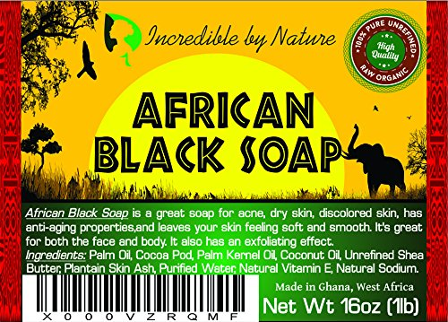 Homemade African Black Soap, Mosturizing Soap, Pack of 6, Black Soap, Raw African Black Soap, Scented Black Soap, Sensitive Skin, Value Pack Soap, Vegan Black Soap
