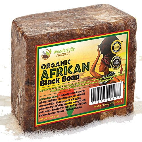 Organic African Black Soap Best For Acne Treatment